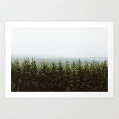 Beyond The Pines Art Print