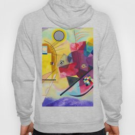 Kandinsky Yellow Red Blue Hoody
