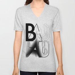 History of Art in Black and White. Bauhaus Unisex V-Neck