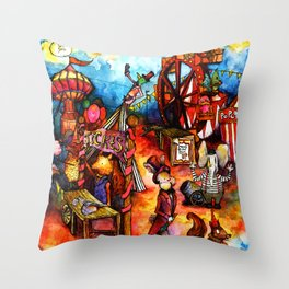 Come One, Come All! Throw Pillow