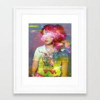 tchmo Framed Art Prints featuring Untitled 20110314e (Dana) by tchmo