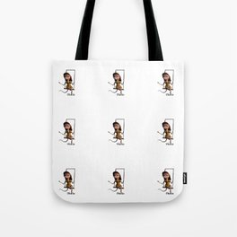 Thalia on trapeze from Vincent the Artist Tote Bag