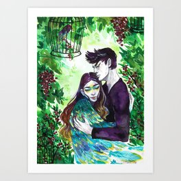 In Your Arms Art Print