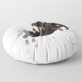 Horse (Jumper II) Floor Pillow