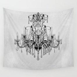 belle époque chandelier Wall Tapestry
