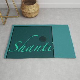 Shanti Blue Rug