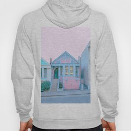 San Francisco Painted Lady Victorian House Hoody