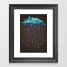 Let It Fall Framed Art Print