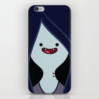 marceline iPhone & iPod Skins featuring Marceline by OverClocked