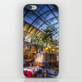 The Apple Market Covent Garden London iPhone Skin