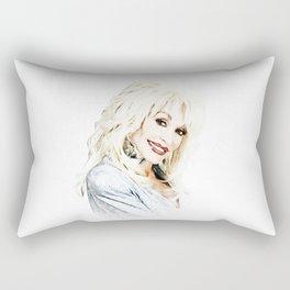 Dolly Parton - Pop Art Rectangular Pillow