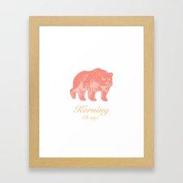Kerning - Oh my! Framed Art Print