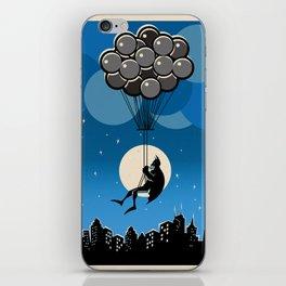 Balloon Bat iPhone Skin