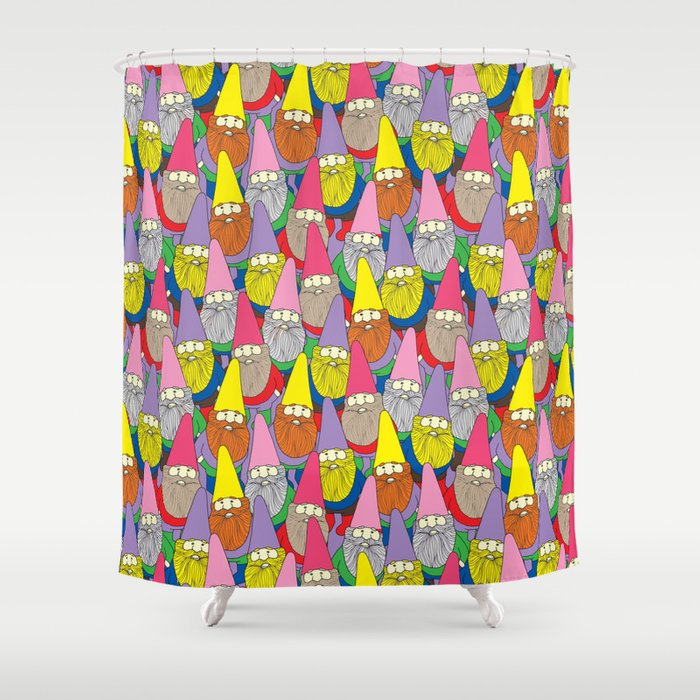 Mister Gnome Shower Curtain By Lydiameiying