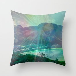 STAY FOREVER BAY Throw Pillow