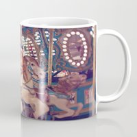 carousel Mugs featuring Carousel by Laura Ruth