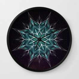 """Wedding"" mandala Wall Clock"