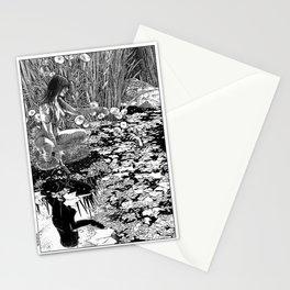 asc 534 - La Dame du lac (Viviane) Stationery Cards