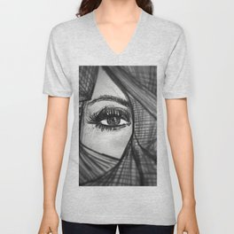 Eye (Be curious) Unisex V-Neck