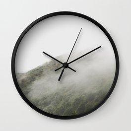 FOGGYMOUNTAIN Wall Clock