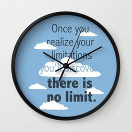 No Limit Wall Clock