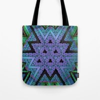 fabric Tote Bags featuring Fabric by Lyle Hatch