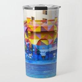 Ciudad colores Travel Mug