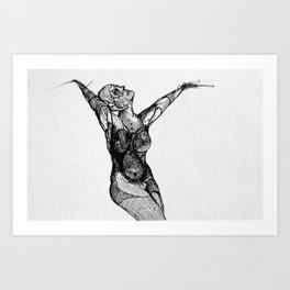 Widowed (IV) Art Print