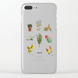Botany Clear iPhone Case