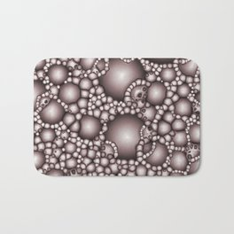 Macro Bubbles Abstract Bath Mat