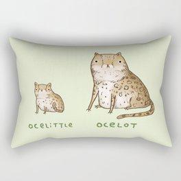 Ocelittle Ocelot Rectangular Pillow
