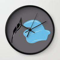 dumbo Wall Clocks featuring Dumbo by FilmsQuiz