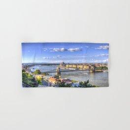 Budapest Cityscape Hand & Bath Towel