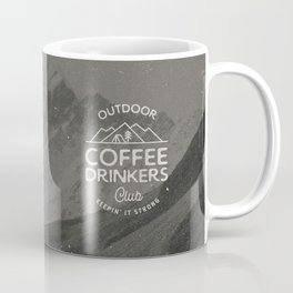 Outdoor Coffee Drinkers Club Coffee Mug