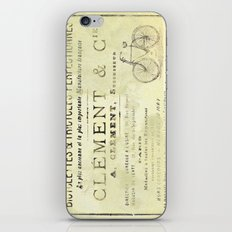 Bicyclette iPhone & iPod Skin