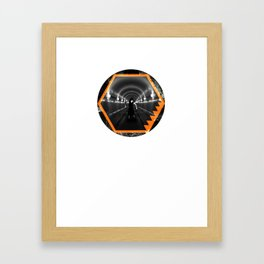 Trapped In Abstract Framed Art Print