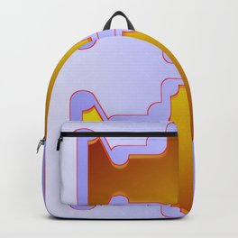 Copper plates pattern Backpack