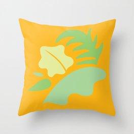 Tropical - Foliage Throw Pillow