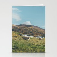 iceland Stationery Cards featuring Iceland by Chelle Wootten