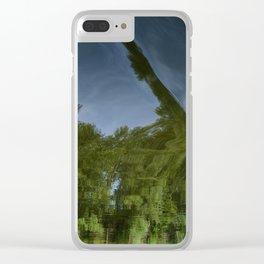 Skewed Clear iPhone Case