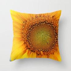 If the sun was a flower! Throw Pillow