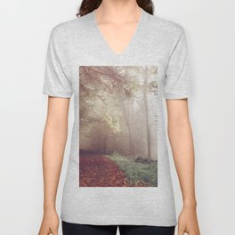 LOST IN THE PATH Unisex V-Neck