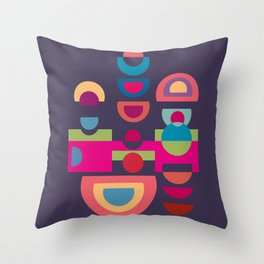 Colorplay G. 1 Throw Pillow