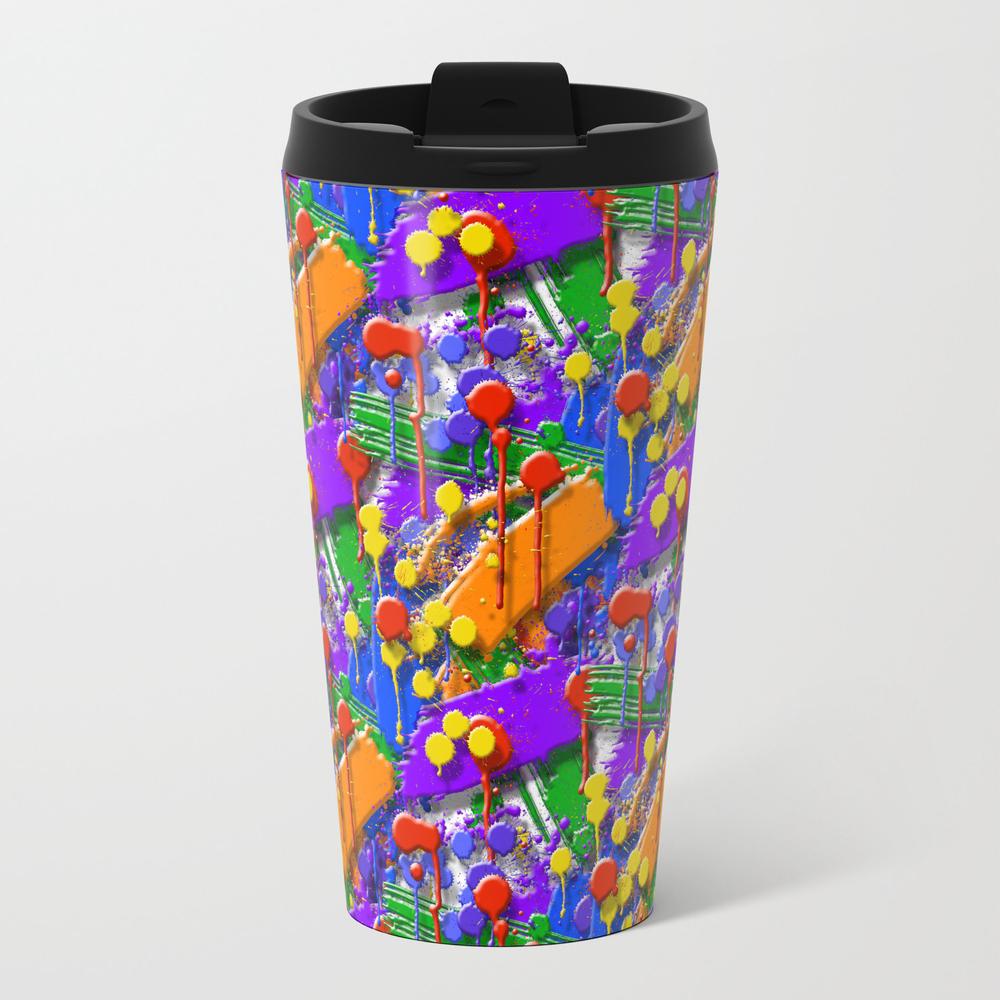 The Big O (drip Porn Pattern) Travel Mug TRM856007