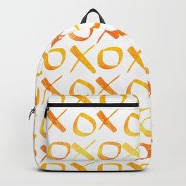 xoxo Watercolor Yellow Orange Backpack