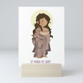 Saint Mary of Egipt Mini Art Print
