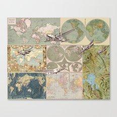 Flight Patterns Canvas Print
