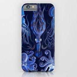 Haeckel Octopi iPhone Case