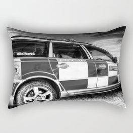 Metropolitan Police Car London Rectangular Pillow
