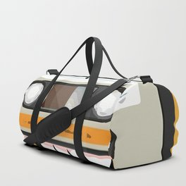 The cassette tape golden tooth Duffle Bag